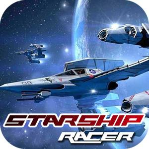 play 3D Starship Racer - Crazy Race With Car On Traffic Road