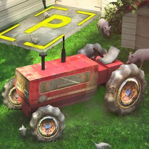 play 3D Tractor Parking Driving Simulator - Realistic Farm Sim