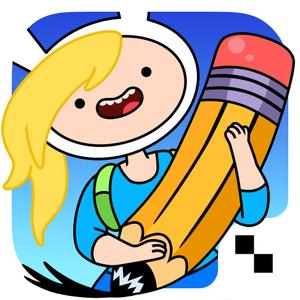 play Adventure Time Game Wizard - Draw Your Own Adventure Time