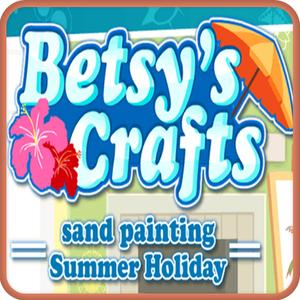 play Betsy'S Crafts Summer Sand Painting Kids Game