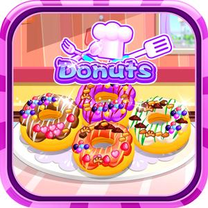 play Donuts Cooking