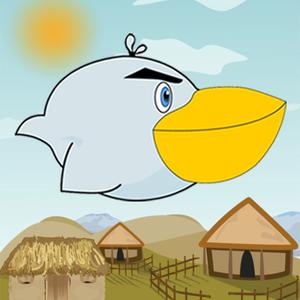 play Flap African Bird - Flappy Adventure