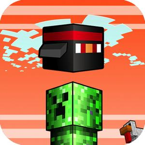 play Flappy Block Mobs - Survival Flyer