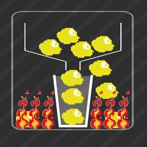 play Flappy Dots - Don'T Let Flappys Into The Fire Space