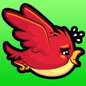 play Flappy Fat Birdies - An Impossibly Hard Flying Bird Racing Game