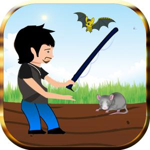 play Hole Well Deep Fishing - Bats And Rats Slicing Party - Free Edition