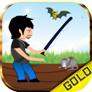 play Hole Well Deep Fishing - Bats And Rats Slicing Party - Gold Edition