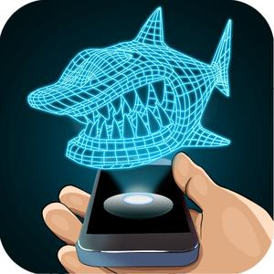 play Hologram Shark 3D Simulator