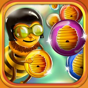 play Honey Bee Bubble Shooter