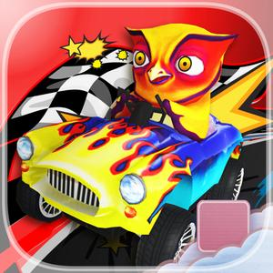 play Hoot Of A Ride Go Kart Owl Dash - Pro - Fast City Stunt Rally Race Game