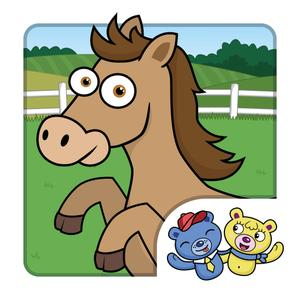 play Horse Puzzle For Kids! Jigsaw Puzzle For Toddlers