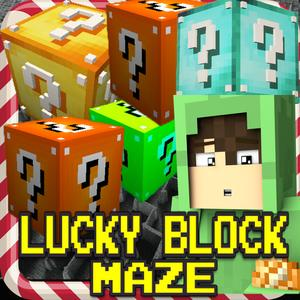 play Lucky Block Maze : Mini Survival Game
