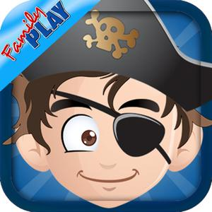 play Pirates Adventure All In 1: Learn To Count, Learn The Alphabet, Coloring, Pirate Puzzles And Many More Pirate For Kids