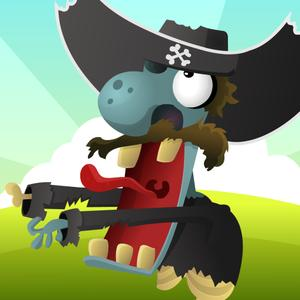 play Pirates Vs Zombies - Defend The Golden Treasure Island Against Zombie Tsunami