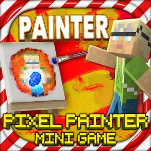 play Pixel Painters - Mc Block Paint Mini Game