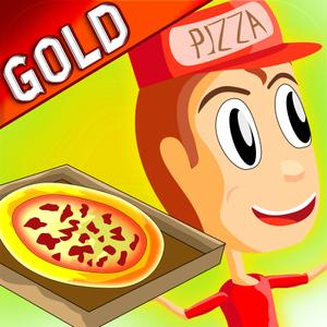 play Pizza Delivery Boy & Girl - Gold Game Edition