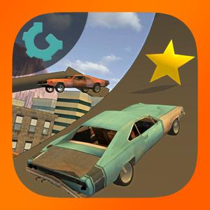 play Rooftop Car Stunts 3D 2015