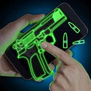 play Simulator Neon Weapon Prank