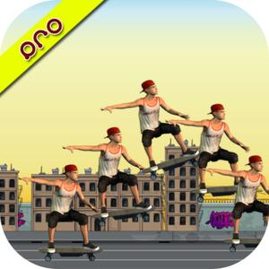 play Skateboard Traffic Highway Racing + Skateboarding Subway Rider Race Pro