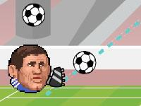 play Sports Heads Football - Shot Training