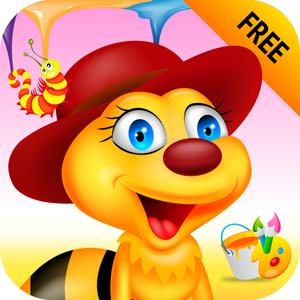 play Tiny Bugs & Bees Coloring