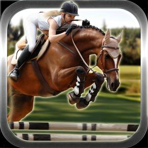 play World Horse Racing 3D - Real Jockey Riding Simulation Game On Mountains Derby Track
