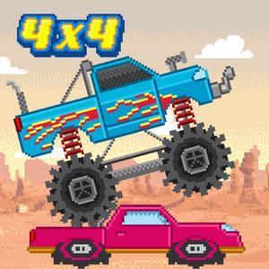 play 4X4 Retro Truck Run – Classic Roads Monster Legends Pro
