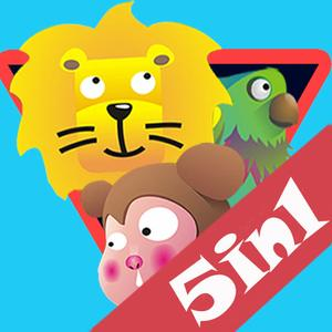 play 5-In-1 Zoo Park-200 Levels
