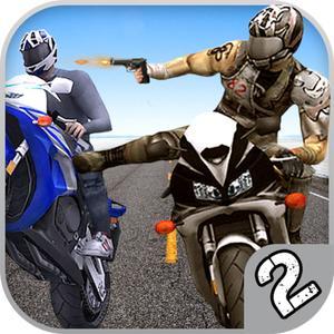 play Bike Attack Race 2 - Shooting
