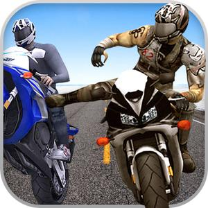 play Bike Attack Race : Extreme Crazy Stunt