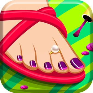 play Dora And Sally'S Foot Spa