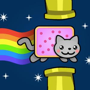 play Flappy Nyan Cat - Adventures In Space