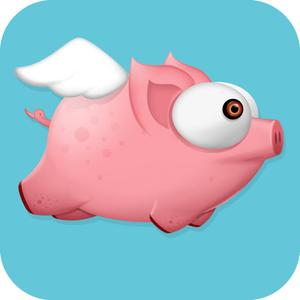 play Flappy Pink - Adventure Of A Flappy Bird Pig