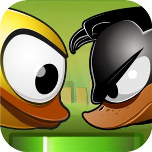 play Flappy Quacky : A Flying Bird Game - Tilt And Shift To Live