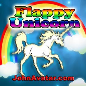 play Flappy Unicorn (Very Easy)