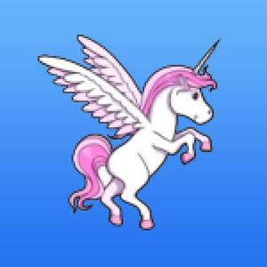 play Flappy Unicorn - Rainbow Feat. The Robot Unicorn Attack Bird From The Year 2048