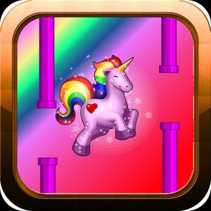 play Flappy Unicorn: Flying Adventure