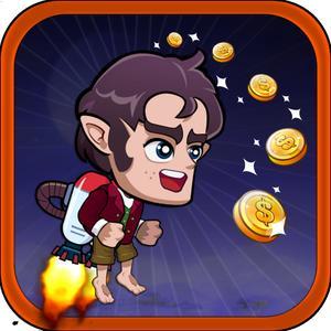 play Flappy: Hobbit Jetpack Run Edition