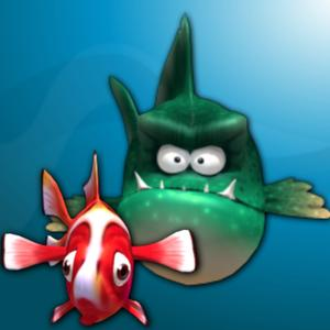 play Hungry Fish 3D