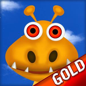 play Hungry Nom-Nom Monsters : After Pizza The All You Can Eat Dessert Quest - Gold Edition