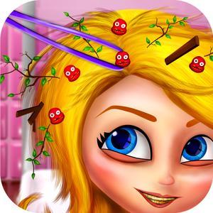 play Messy Girls Salon - Dirty Kids Big Aadventure Game