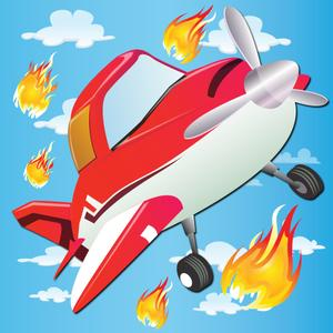 play Planes On Fire - Rescue Mission!