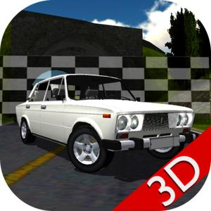 play Russian Car Lada Racing 3D