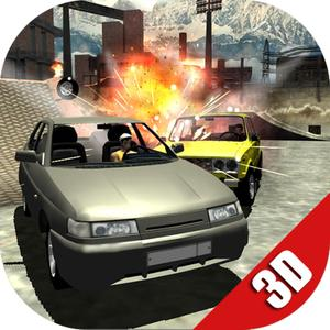 play Russian Cars Destruction Derby