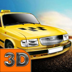 play Russian City 3D: Taxi Driver Full