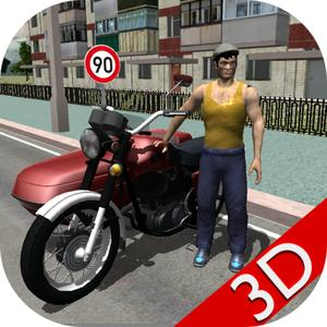 play Russian Moto Race The Traffic