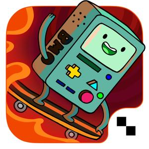 play Ski Safari: Adventure Time - Stunt Skiing Endless Runner With Finn And Bmo