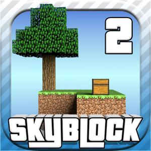 play Sky Block 2 - Mc Survival Hunter Shooter Mini Block Game