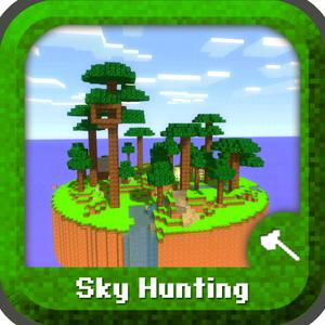 play Sky Hunting - Mini Survival Game With Block Multiplayer