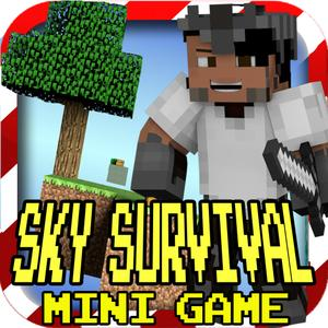 play Sky Survival Battle (Original) - Mc Hunter Shooter Worldwide Multiplayer Block Mini Game
